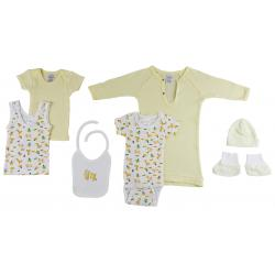 7-piece Pastel Interlock Hanging Gift Set