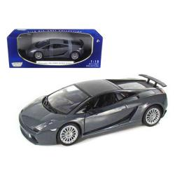 Lamborghini Gallardo Superleggera Grey 1-18 Diecast Model Car By Motormax 73181gry