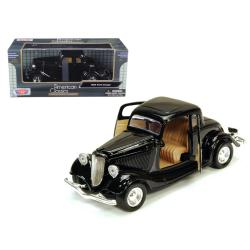 1934 Ford Coupe Black 1-24 Diecast Model Car By Motormax 73217bk