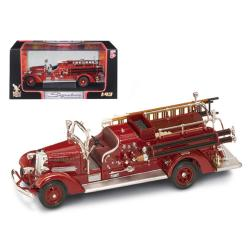 1938 Ahrens Fox Vc Fire Engine Red 1-43 Diecast Model By Road Signature 43003r